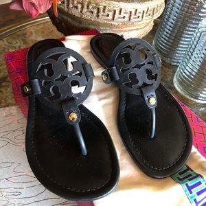 Tory Burch Miller Sandal Color: Black